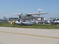 C-FHOG @ OSH - 2002 Bair Cessna T206H Turbo STATIONAIR Amphibian, Lycoming TIO-540-AJ1A 310 Hp - by Doug Robertson