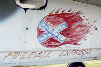 60-5385 @ FTW - Belly Art on the F-105!