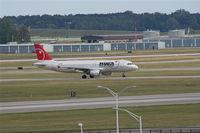 N377NW @ DTW - Northwest A320
