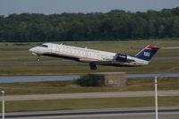 N459AW @ DTW - Air Wisconsin US Airways Express CRJ-200