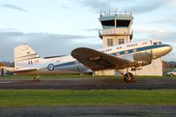 ZK-DAK @ NZAR - New Zealand - Air Force DC3 - by Andy Graf-VAP