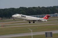 N752NW @ DTW - Northwest DC-9-41
