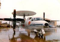 158638 @ NFW - The First Production E-2C Hawkeye at Carswell AFB Airshow - by Zane Adams
