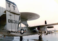 158638 @ NFW - The First Production E-2C Hawkeye at Carswell AFB Airshow