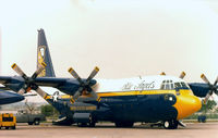 149806 - Blue Angles Fat Albert Airlines at the former Dallas Naval Air Station - by Zane Adams