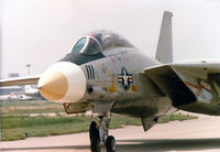 159592 - F-14D at the former Dallas Naval Air Station - Formerly an F-14A converted to D