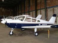 G-AYEF @ EGCB - Pegasus flying group - by chris hall