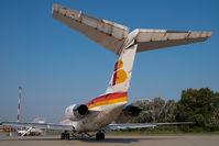 EC-FPD @ VIE - Iberia MD80