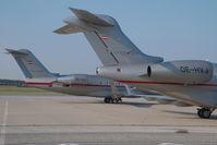OE-HVJ @ VIE - Vistajet Challenger 300