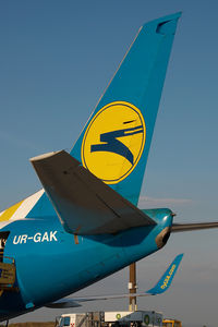 UR-GAK @ VIE - Ukraine International Boeing 737-500