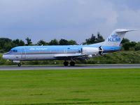 PH-KZA @ EGCC - KLM cityhopper - by chris hall