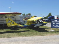 N133RD @ OSH - 2007 Drewyer Searey Progressive Aerodyne SEAREY amphibian, Rotax 914 115 Hp pusher, Registered ultralight - by Doug Robertson