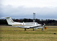 F-GVLB @ EGPH - Super king air 350 at EDI - by Mike stanners