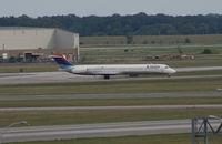 N937DL @ DTW - Delta MD-88