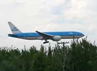 PH-BQE @ DTW - KLM 777-200