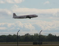 N500EJ @ YIP - C-54 Berlin Airlift Heritage plane