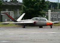 575 @ LFBF - Preserved Fouga in LFBF Air Force Base - by Shunn311