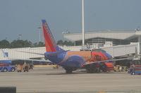 N224WN @ MCO - Southwest Slam Dunk One 737-700