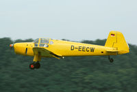 D-EECW @ EBDT - License built Bu-181 - by Joop de Groot