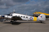 G-VROE @ EDDH - Air Atlantic Classic Flight Avro 625A Anon T21