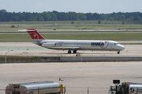 N753NW @ DTW - Northwest DC-9-41