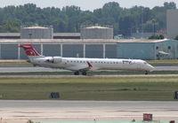 N910XJ @ DTW - Mesaba CRJ-900 - by Florida Metal