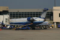 N738SK @ DTW - United Express CRJ-700 - by Florida Metal