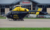 G-WPAS @ EGBJ - Wiltshire Police and Ambulance MD900 Explorer noted at Gloucestershire Airport  UK in Sept 2008