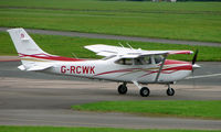 G-RCWK @ EGBJ - Cessna noted at Gloucestershire Airport  UK in Sept 2008