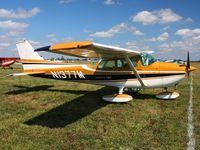 N1377M @ I74 - MERFI Fly-in - Urbana, Ohio - by Bob Simmermon