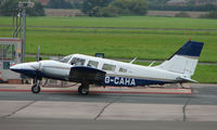 G-CAHA @ EGBJ - Piper Seneca noted at Gloucestershire Airport  UK in Sept 2008