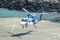 C-GHJP @ CBC7 - Sikorsky S-76A  - Vancouver Harbour - by David Burrell