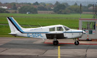 G-SCPL @ EGBJ - Piper Pa-28-140 noted at Gloucestershire Airport  UK in Sept 2008