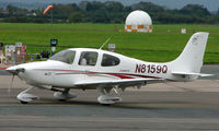 N8159Q @ EGBJ - Cirrus SR20 noted at Gloucestershire Airport  UK in Sept 2008