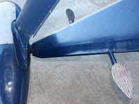 N12120 @ I74 - Signature Fairchild steps.  On display at MERFI Fly-in - Urbana, Ohio. - by Bob Simmermon