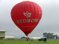 G-RROW @ EGBP - Linstrand Baloon of Redrow on display at Kemble 2008 - Saturday - Battle of Britain Open Day - by Terry Fletcher