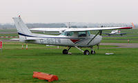 G-BSZW @ EGBP - Cessna 152 on display at Kemble 2008 - Saturday - Battle of Britain Open Day