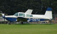 G-OSTU @ EGBP - Grumman AA-5A on display at Kemble 2008 - Saturday - Battle of Britain Open Day