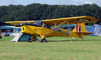 G-BLPG @ EGBP - 1959 Auster wears CAF 16693 markings - on display at Kemble 2008 - Saturday - Battle of Britain Open Day