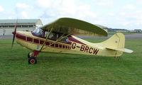 G-BRCW @ EGBP - 1946 Aerona 11BC on display at Kemble 2008 - Saturday - Battle of Britain Open Day