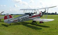G-STIG @ EGBP - 1937 Focke Wulf FW44J on display at Kemble 2008 - Saturday - Battle of Britain Open Day