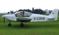G-CBVB @ EGBP - 2002 Robin R2120U on display at Kemble 2008 - Saturday - Battle of Britain Open Day