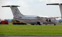 G-CCJP @ EGBP - BAE 146 in storage  at Kemble 2008 - Saturday - Battle of Britain Open Day