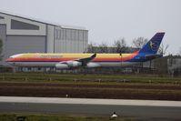 6Y-JMP @ LFBD - A340-313 - by JBND31