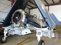 92399 @ ADS - At the Cavanaugh Flight Museum - by Zane Adams