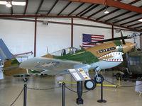 N40PN @ ADS - At the Cavanaugh Flight Museum - by Zane Adams