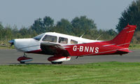 G-BNNS @ EGBT - Piper Pa-28-161 - A visitor to the 2008 Turweston Vintage and Classic Day