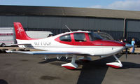 N770CP @ EGBT - With the Cirrus agents at Turweston on 2008 Vintage and Classic Day