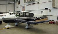 G-CBEZ @ EGBT - Robin DR400/180 at Turweston