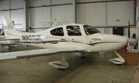 N900UK @ EGBT - With the Cirrus agents at Turweston on 2008 Vintage and Classic Day